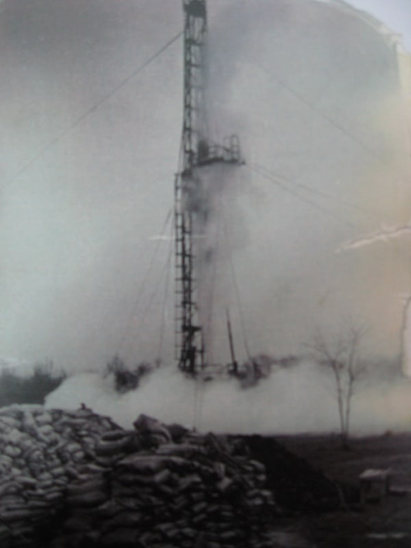 """BAČKI VULKAN"": Erupcija gasa nedaleko od Bečeja 1968/69."