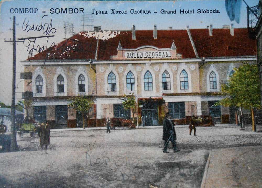 """Ostale samo požutele razglednice: Hotel """"Sloboda"""" (""""Kod fracuskog cara"""", """"Lovački rog"""", """"InterNacion"""")"""