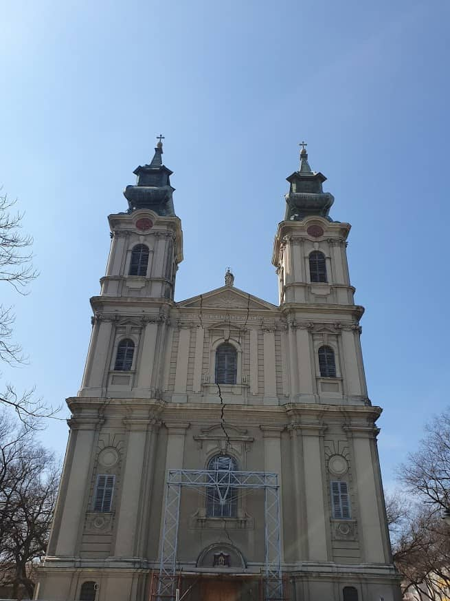 Pukotina stara dva veka: Subotička katedrala