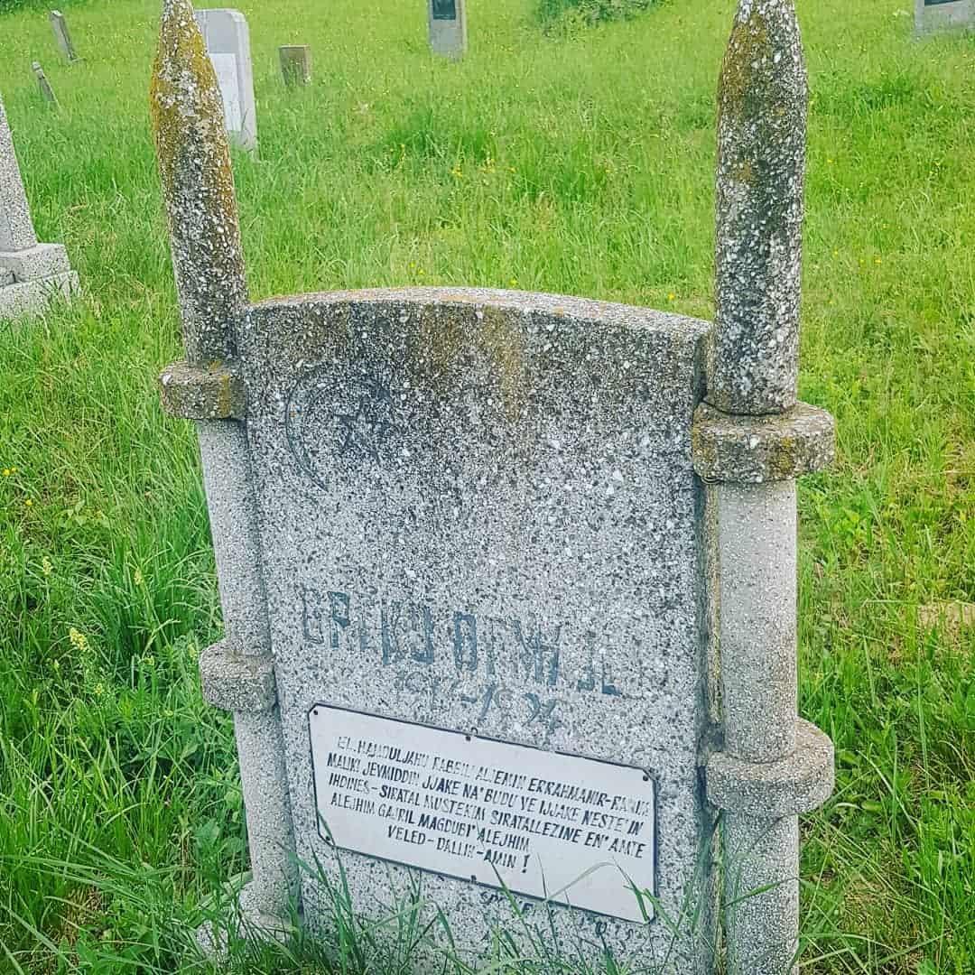 Muslimanski vernici su ovde sahranjivani do 1992.