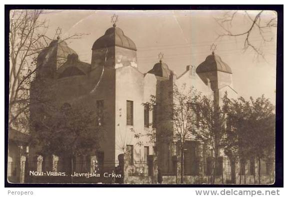 Preživela samo dva stuba: Sinagoga u Vrbasu