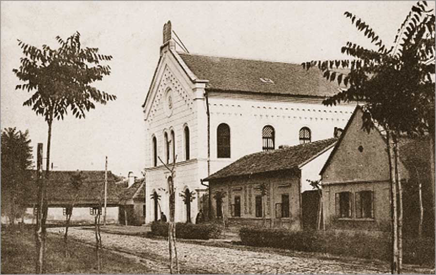 Zgrada sinagoge u Somboru: Početkom 20. veka i danas