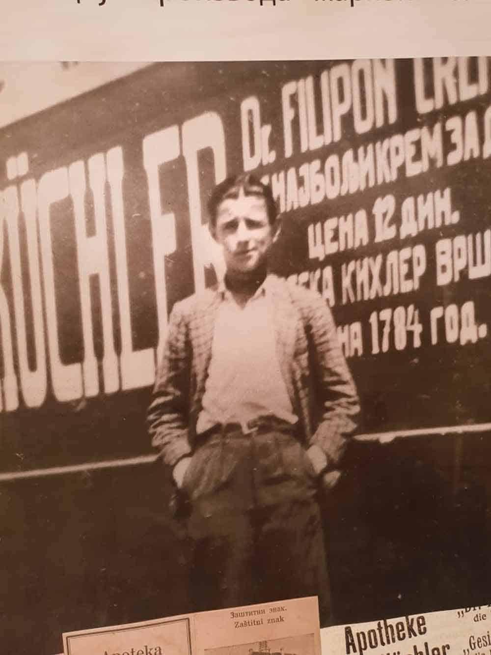 """PIONIR MARKETINGA NA OVIM PROSTORIMA: Bela Kirhler, vlasnik """"Apoteke na stepenicama"""" početkom 20. veka"""
