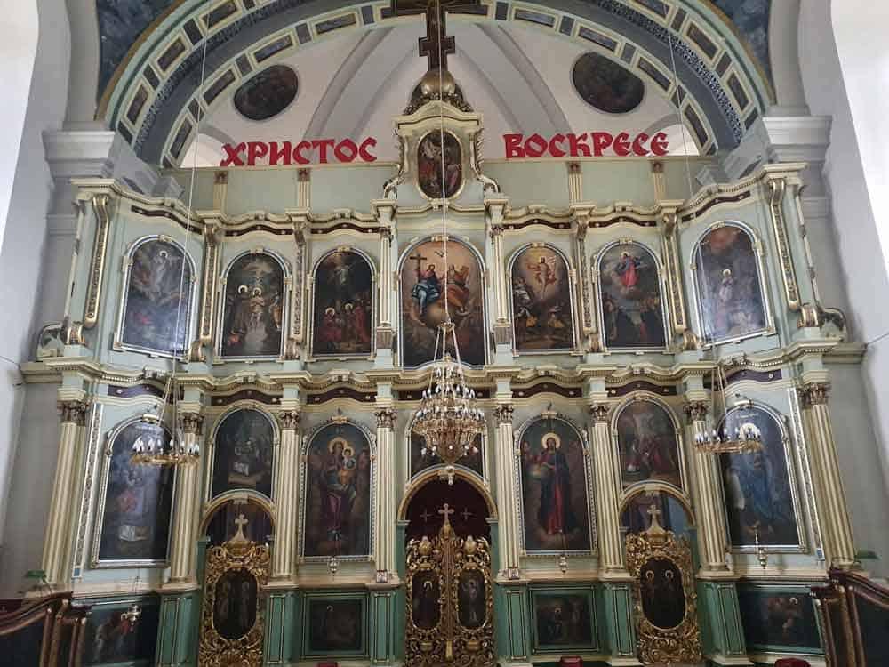 SPORNA INTERVENCIJA: Današnji izgled ikonostasa u Sabornoj crkvi u Vršcu
