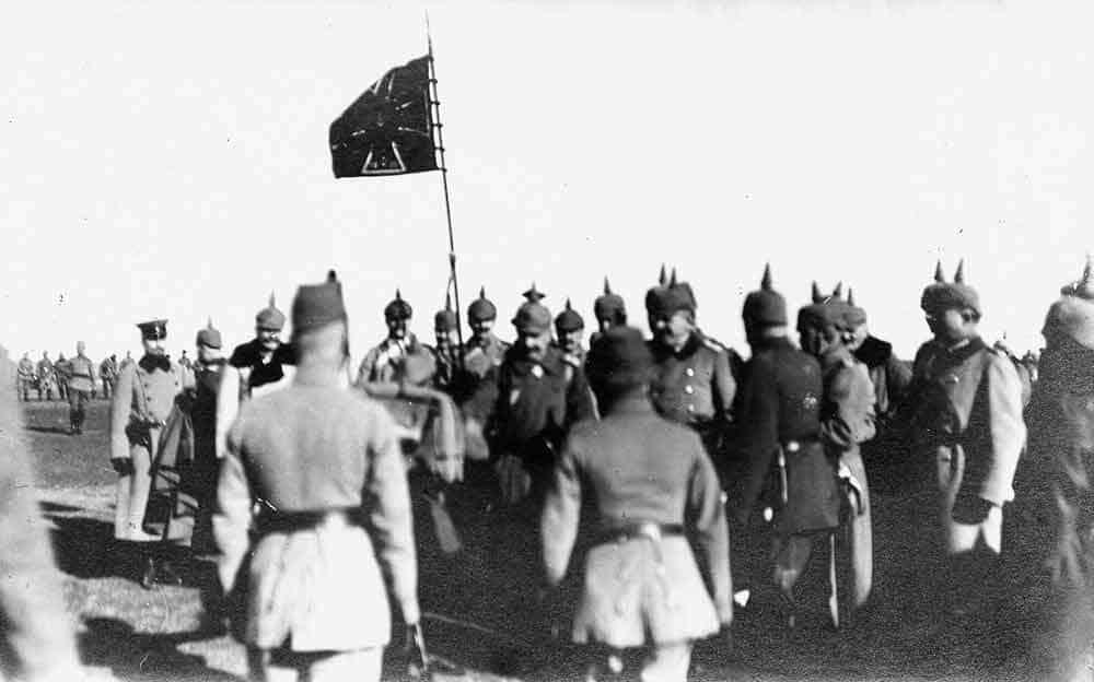 OSVAJAČ: Nemački Car Vilhelm prilikom posete Beogradu 1916.