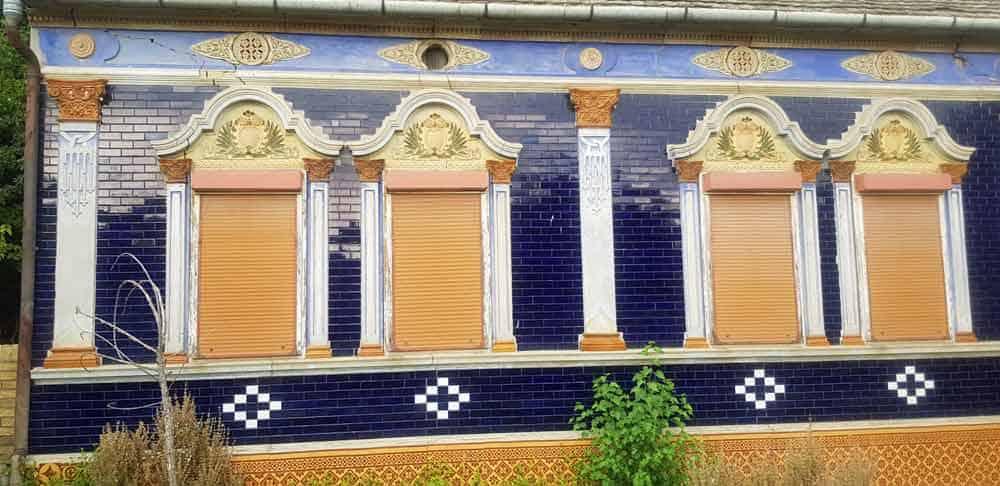 Keramičke pločice na fasadama: Kuće u Gložanu