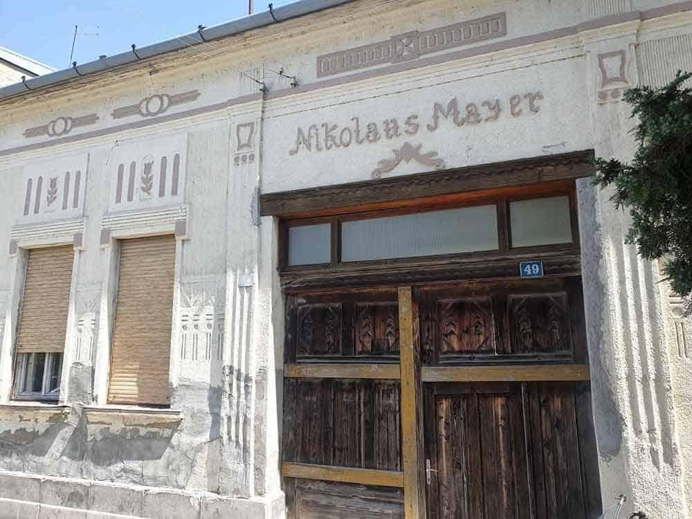 TRAGOVI NEMACA: Kuća Nikolausa Majera u centru Čelareva