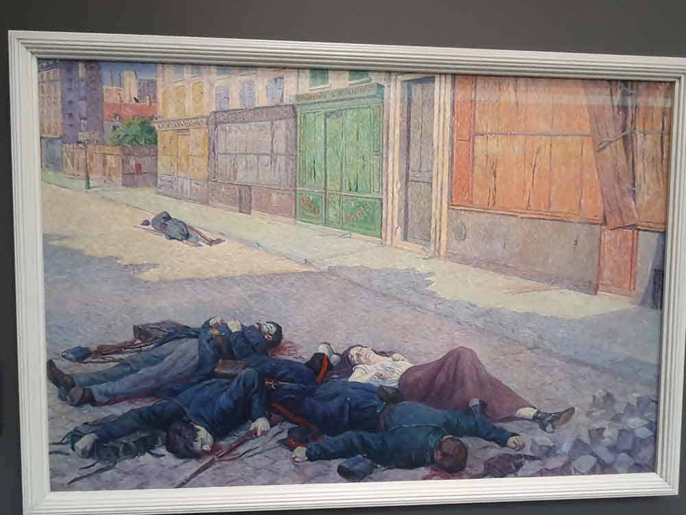 "150 GODINA OD PARISKE KOMUNE: ""Ulica u Parizu, jul 1871."""