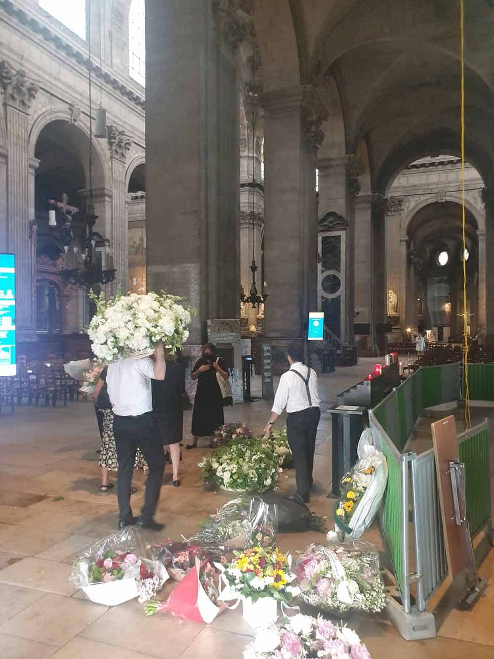 PRVA NAKON LOKDAUNA: Posle svadbe u Crkvi Sen Sulpis