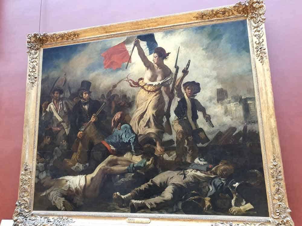 "U SLAVU ""JULSKE REVOLUCIJE"" 1830: ""Sloboda predvodi narod"", Ežen Delakroa"