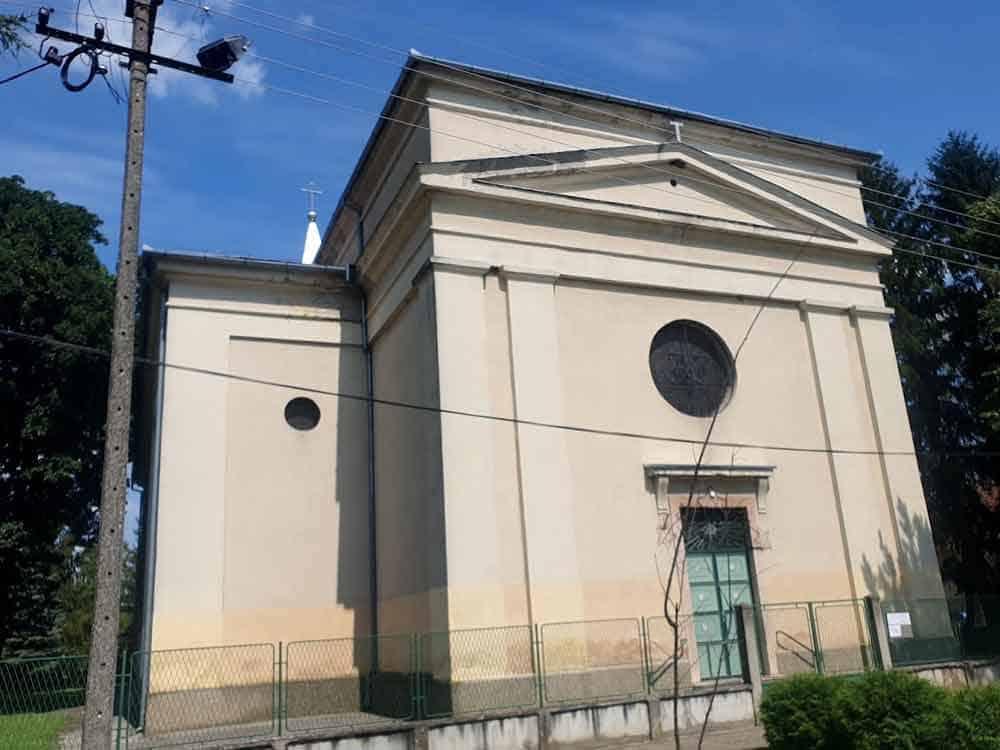 """ULAZ """"SA LEĐA"""": Katolička crkva u Bezdanu"""