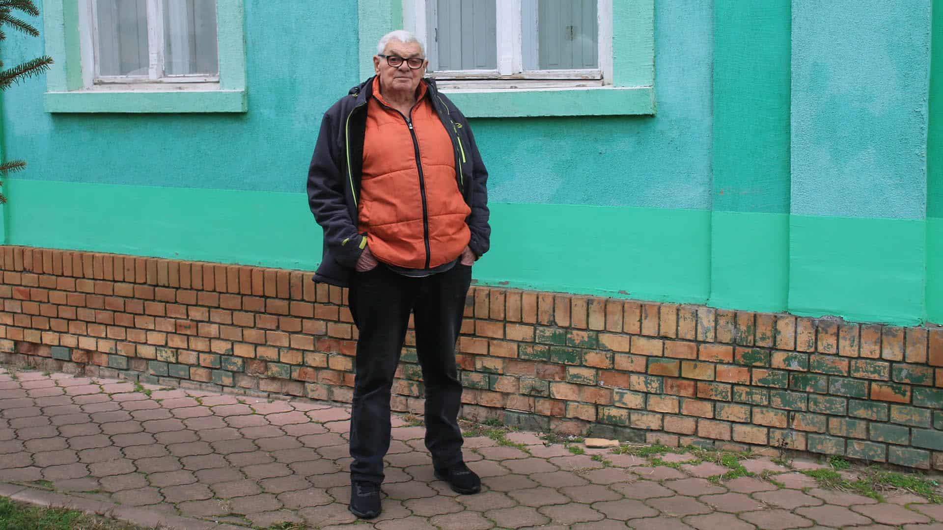 Jedan od retkih Nemaca koji su ostali u selu: Johan Sabo iz Bačkog Brestovca