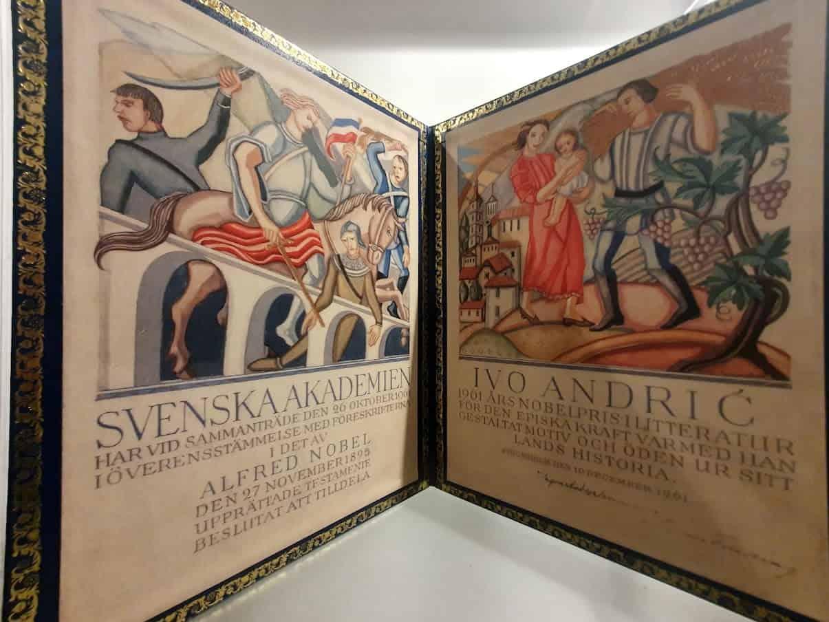 Kopija Nobelove nagrade: Kuća Ive Andrića u Herceg Novom